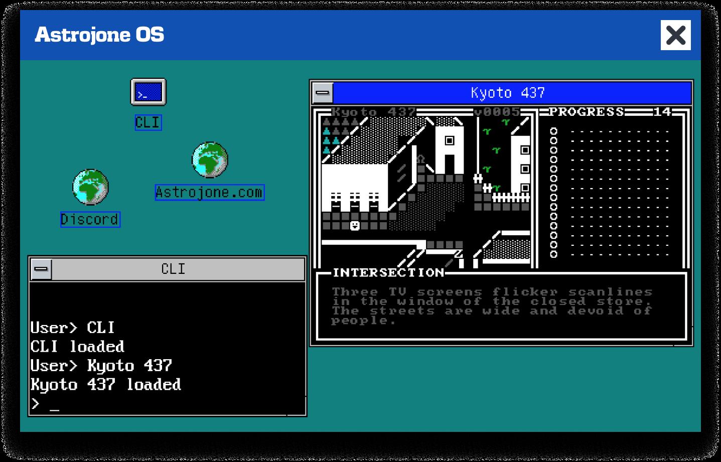 Astrojone OS Clipart - Screenshot
