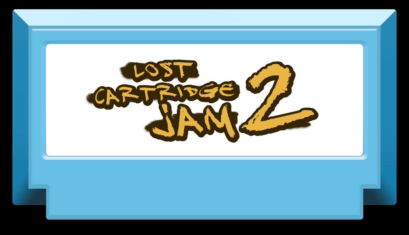 Lost Cartridge Jam 2020 Clipart - Logo